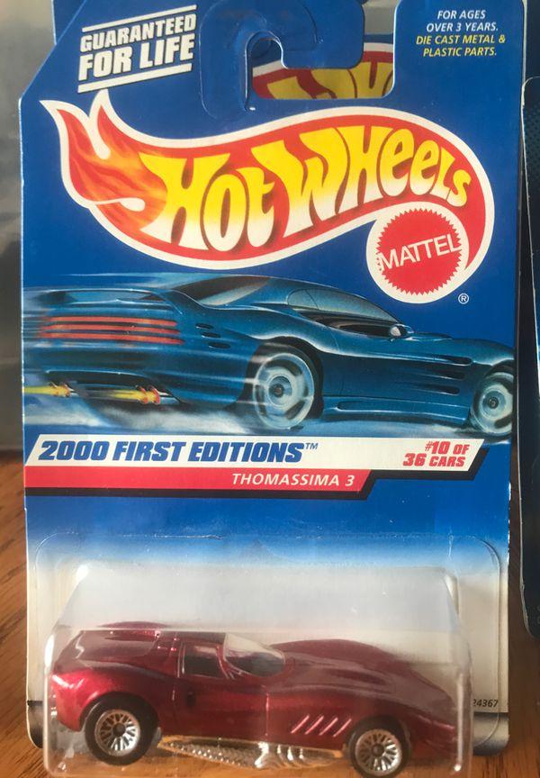 Hot Wheels . (1) .Sugar Rush Series 3/4 Pikes Peak Celica . (1) . Virtual Collection Scramin Hauler . (1) Speed Blaster Series 1/4 Firebird Funny Ca