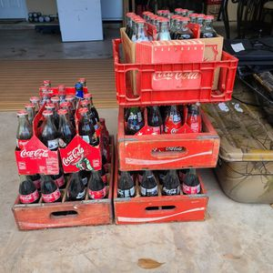 Vintage Coca-cola Boxes And Collectable Bottles for Sale in Fort Worth, TX