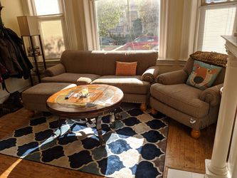Sofa, chair and ottoman set for Sale in Pittsburgh,  PA