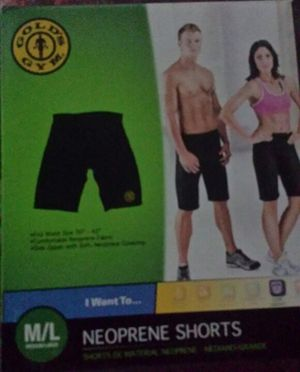 Golds gym neoprene shorts for Sale in Detroit, MI