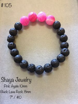 Black Lava bracelet for Sale in Nashville, TN
