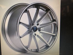 20 inch BMW X3 aftermarket rims with tires and lugs. for Sale in Washington, DC