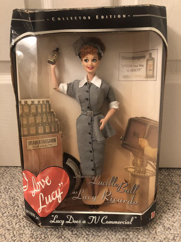 I Love Lucky Collectable Barbie Doll