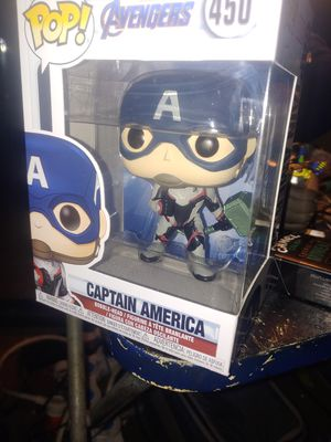 Custom Captain America end game with hammer Funko Pop for Sale in Seattle, WA