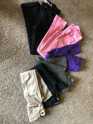 Girls size 7-8 clothes lot for Sale in Manteca, CA