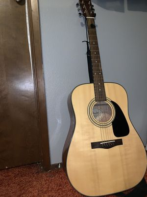 Fender acoustic guitar with case for Sale in Tacoma, WA