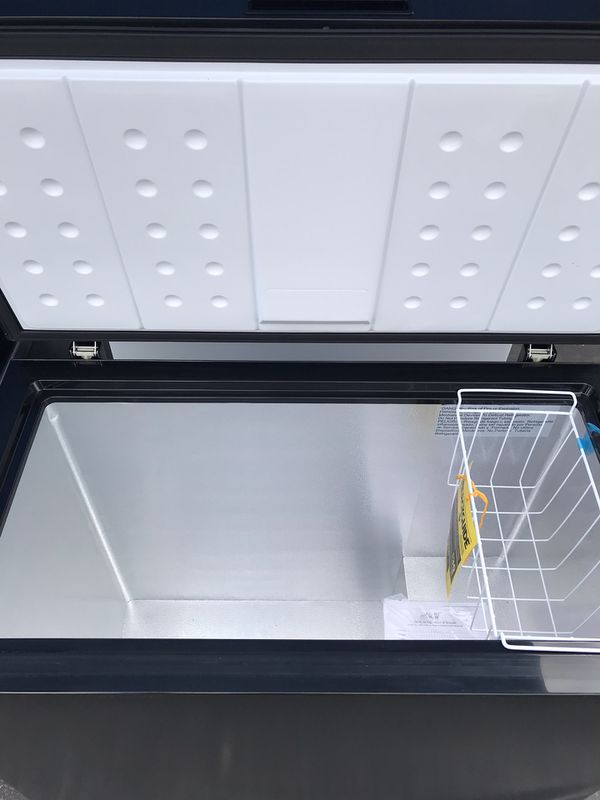 New Black and white 7.0 cu FT freezers