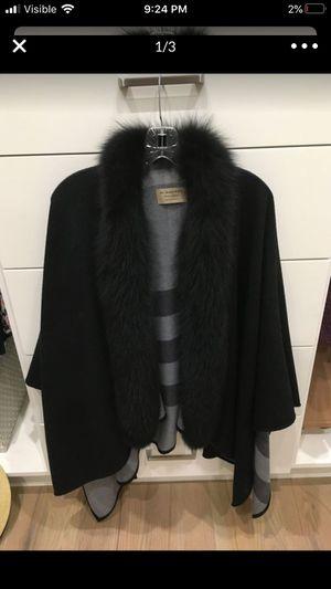 Burberry fur shawl for Sale in Dallas, TX