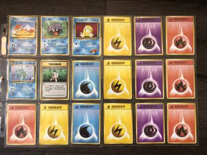 Pokemon vintage collectible cards for Sale in Culver City, CA