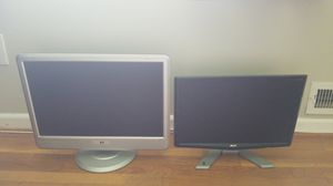 2 computer monitors for Sale in Arlington, VA
