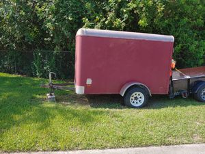 In closed trailer for Sale in Fort Pierce, FL