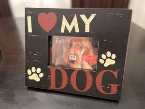 I LOVE MY DOG PICTURE FRAME for Sale in Tyler, TX