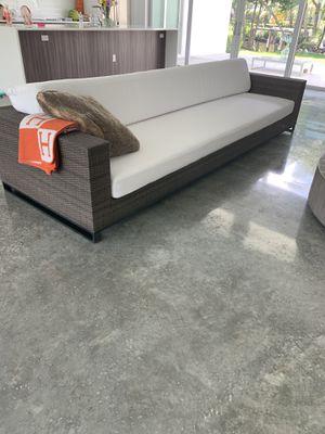 Restoration hardware outdoor sofa for Sale in Vero Beach, FL