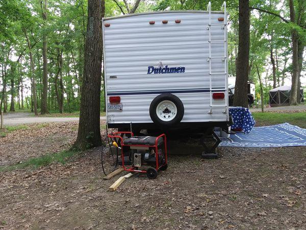 Dutchman camper. Real good condition