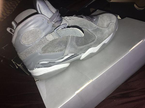Air Jordan 8 retro Cool grey