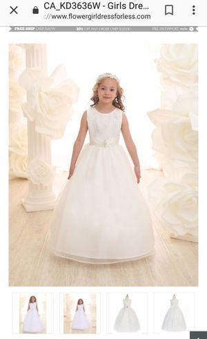 IVORY DRESSES (2) SIZE 6 &16 for Sale in Phoenix, AZ