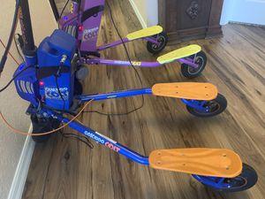 GoKiddo Trike scooters - 1 Blue and 1 Purple for Sale in Ocala, FL