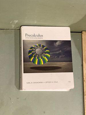 Precalculus book for Sale in Carson, CA