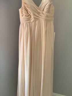 Revelry Blush Pink Bridesmaids Dress Size 4 Petite for Sale in Los Angeles,  CA