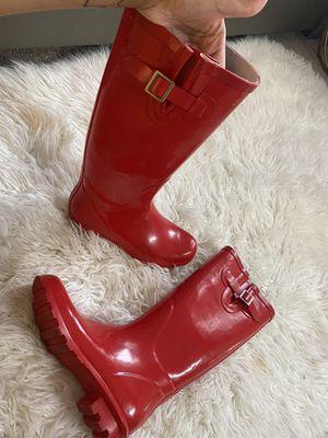 Red rain boot for Sale in San Antonio, TX