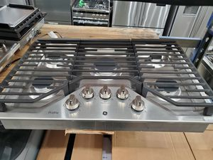 "30"" GE profile cooktop stainless Steel for Sale in Santa Ana, CA"