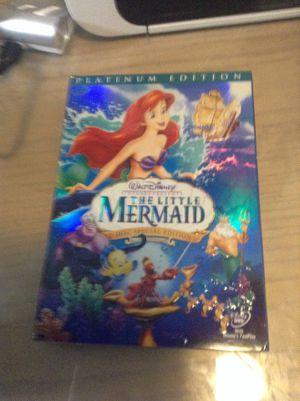 Walt Disney the little mermaid for Sale in Hialeah, FL