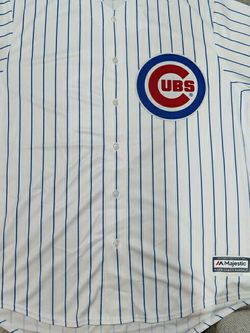 Majestic Chicago Cubs Anthony Rizzo 44 Baseball Jersey Mens Adult XL Pinstripe for Sale in Chicago,  IL