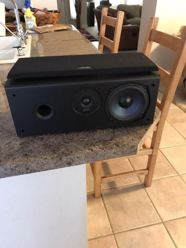 Polk audio center Channel speaker