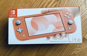 Nintendo Switch Lite Coral for Sale in Houston, TX