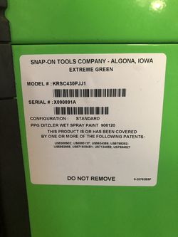 Snap-on Tool Box for Sale in Turlock, CA