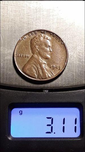 1943 wheat penny copper for Sale in Fresno, CA