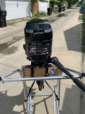 1978 20 h.p longshaft mercury outboard w/controls for Sale in Tinley Park, IL