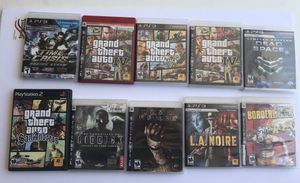 Lot of PS3/PS2 Games for Sale in Livermore, CA