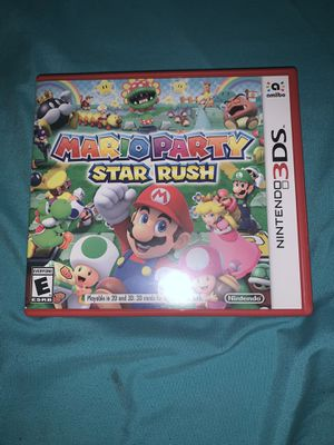 Mario party Star Rush for Sale in Tinton Falls, NJ