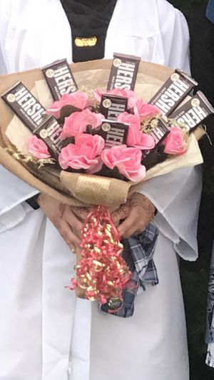 Candy chocolate bouquet! Gift! Birthday! Graduation! for Sale in Dearborn, MI