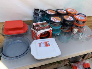 All brand new Pyrex and much more for Sale in Richmond, CA