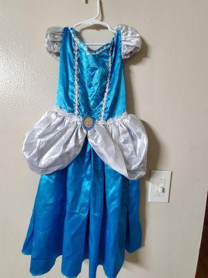 Cinderella costume 5-7 years for Sale in Wichita, KS