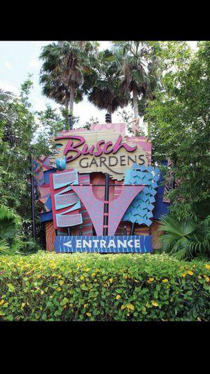 Busch gardens for Sale in Tampa, FL