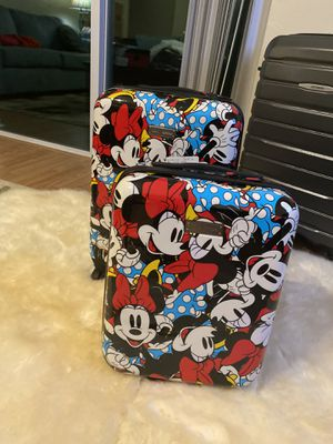 "NEW Disney Minnie Mouse American Tourister 2-Piece 20"" Spinner & 18"" Underseater for Sale in Kissimmee, FL"