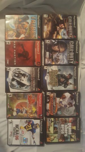 PS2 games for sale $5 each. Local sale or shipping. for Sale in Manassas Park, VA