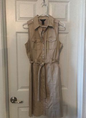 WHBM NWT Size 10 Tan Khaki dress for Sale in Gibsonia, PA