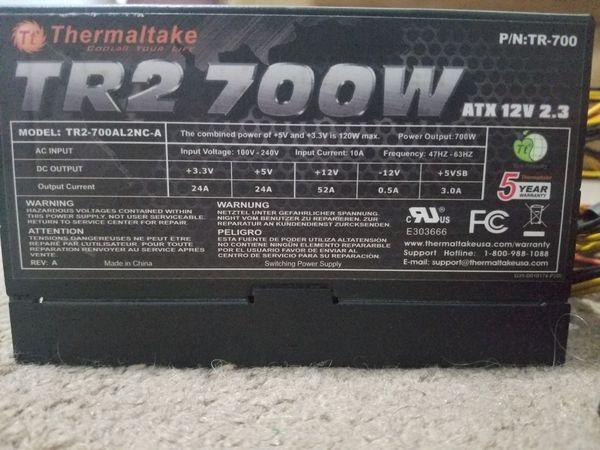 Thermaltake TR2 700W Gaming PC Power Supply