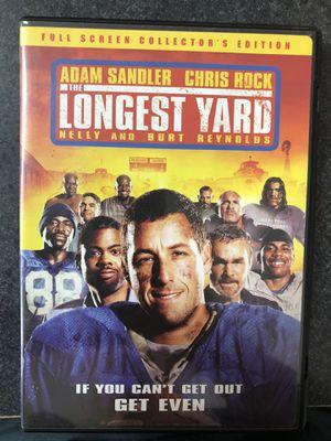 The Longest Yard DVD - Adam Sandler for Sale in Preston, CT