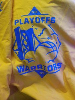 Shirts Warriors Playoffs 2019. 2 Shirts For 10 Bucks for Sale in San Jose,  CA