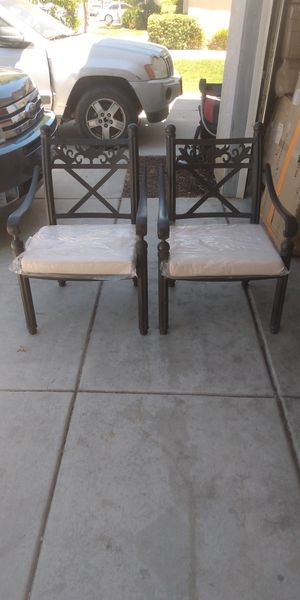Vintage looking brand new patio chairs for Sale in Moreno Valley, CA