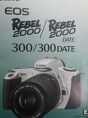 Canon EOS Rebel 2000 for Sale in Las Vegas, NV