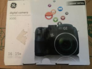 GE Power Pro Series X500 16.0MP Digital Camera - Black for Sale in Nashville, TN
