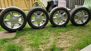 205/55/16=4 tires and rims for Sale in Ashburn, VA