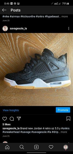 Retro Jordan 4's for Sale in Long Beach, CA