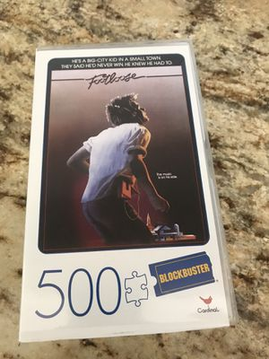 Blockbuster Cardinal Games Footloose 500 pc Jigsaw Movie Lovers Puzzle Nostalgia for Sale in Secaucus, NJ
